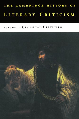 Compare Textbook Prices for The Cambridge History of Literary Criticism, Vol. 1: Classical Criticism Reprint Edition ISBN 9780521317177 by Kennedy, George Alexander