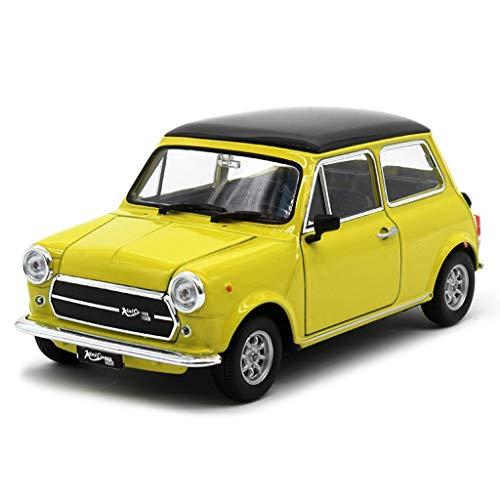 IVHJLP Automodell 1:24 Mini Cooper 1300 Simulation Legierung Druckguss Spielzeug Modell Sammlung Schmuck 14x7x6 cm...