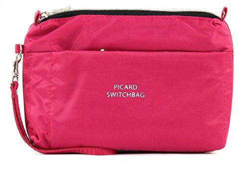 Picard Switchbag 7838, Borsa porta cosmetici donna - Nero, 20x15x3 cm (L x A x P)