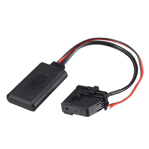OYWNF Adaptador AUX con MP3 inalámbrico Bluetooth de 18 Pines for VW for Navi for MFD2 for RNS2 for Golf 5 for Passat for Touran for Audi for Ford