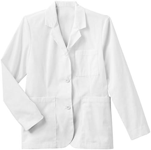 META Labwear Women s Consultation Lab Coat White product image