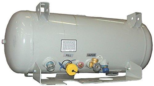 100 lb horizontal propane tank - 7