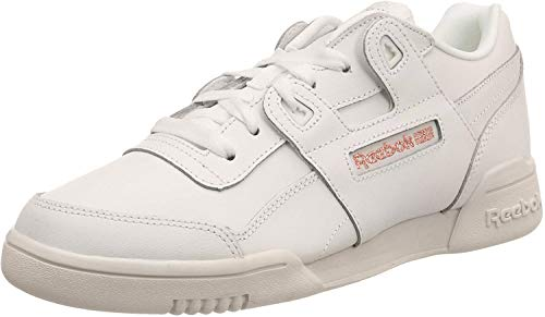 Reebok Damen Workout LO Plus Sneaker, Sea Spray White Silve, 38.5 EU