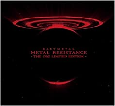 BABYMETAL CD + Blu-ray Album METAL RESISTANCE THE ONE LIMITED EDITION Japan