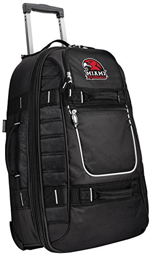 Why Choose Broad Bay Small Miami University Carry-On Bag Wheeled Suitcase Luggage Bags