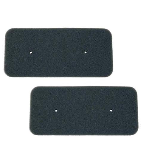 Set di 2 filtri per asciugatrice a pompa di calore Candy Hoover 40006731, 275 x 125 mm, filtro in spugna, 100% Made in Germany