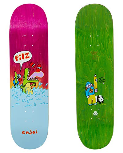 Enjoi Skateboard Deck Villani R7 8.5
