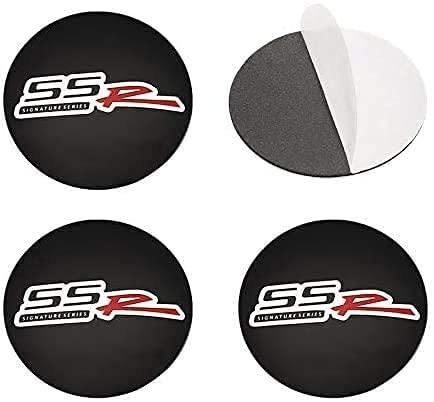 4 Piezas 56mm Coche Tapacubos para Chevrolet Cruze Tahoe Epica Caprice Matiz Rezzo Sonic, con Emblema De Insignia Embellecedor Central De Llanta De Rueda Cubre Car-Styling Accesorios