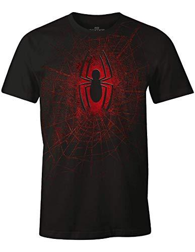Tshirt Exclu Spider-Man Marvel - 2017 Spider, Noir, L