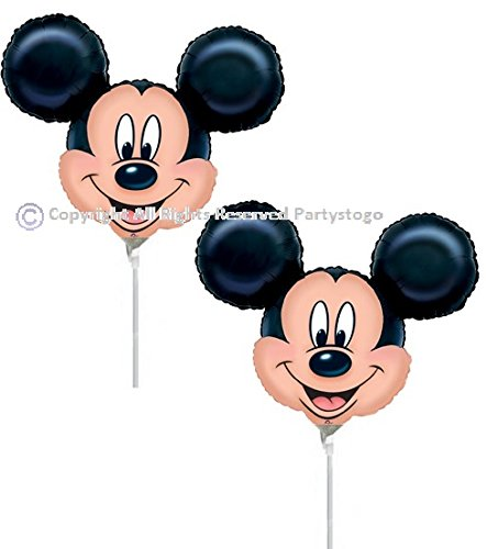 DISNEY MICKEY MOUSE BALLOONS 10PCS BIRTHDAY PARTY MINI SHAPE FAVORS DECORATIONS CENTERPIECES