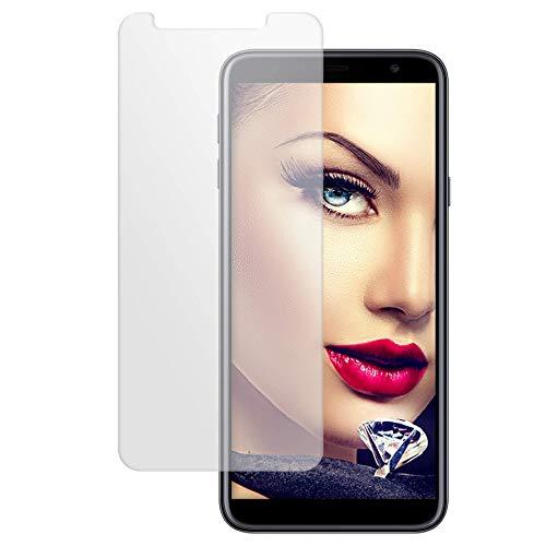 mtb more energy® Schutzglas für Samsung Galaxy J4 Plus / J4+ 2018 (SM-J415, 6.0'') - Tempered Glass Bildschirm Schutzfolie Glasfolie