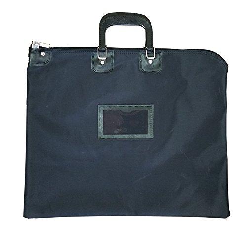 Locking Document HIPAA Bag 16 x 20 with Handles (Black)