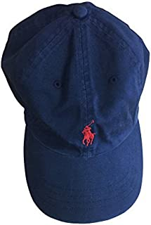 Mens Embroidered Logo Ball Cap (One Size, Newton Navy/Red...