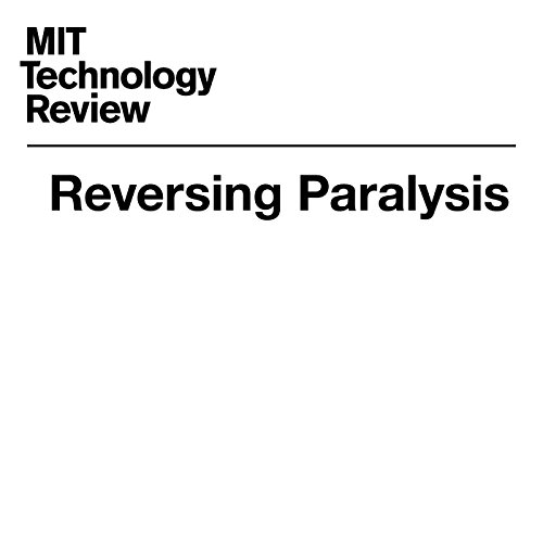 Reversing Paralysis audiobook cover art