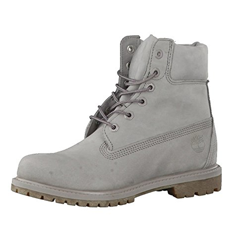 Timberland 6 In Premium Waterproof Damen Stiefel, Grey, 38.5 EU