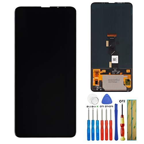 E-YIIVIIL Pantalla LCD táctil compatible con Xiaomi Mi Mix 3 M1810E5A de 6,39 pulgadas, con herramientas
