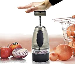 Onion Chopper Vegetable Push Cutter Slicer Garlic Dicer Food Pressing Tool New