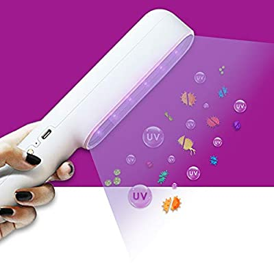 Rveal | UVILIZER Extra - UV Light Sanitizer & Ultraviolet Sterilizer Hand Wand (Rechargeable UV-C LED Disinfection Lamp | Portable UVC Cleaner for Home, Car, Travel | No Chemicals, Odor, Toxins | USA) by Rveal