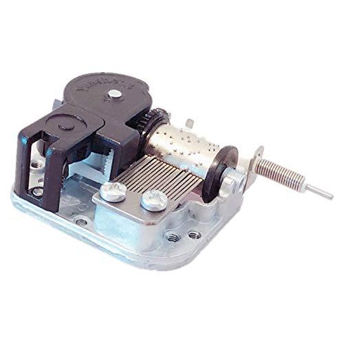 Caja de música Mecanismo de caja de música DIY con eje giratorio flexible Bailarina Caja de música Regalo de cumpleaños Regalos de NavidadGift (Color : Mechanism only)