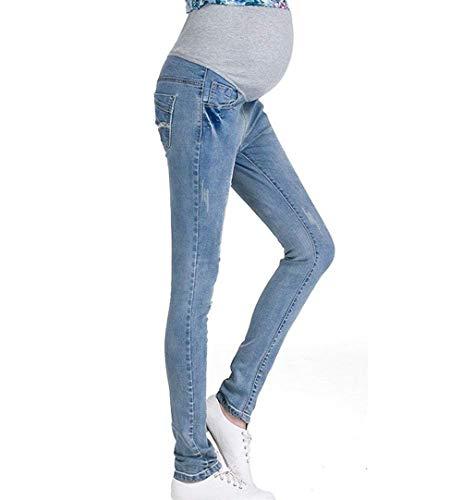 Targogo 2018 Nieuwe Lente Hlings Zomer Zachte Vrouwen Zwangere Skinny Stretchable Broek Leggings Jeans Taille Schaal Verstelbare Zachte Stretchy Broek Jeans