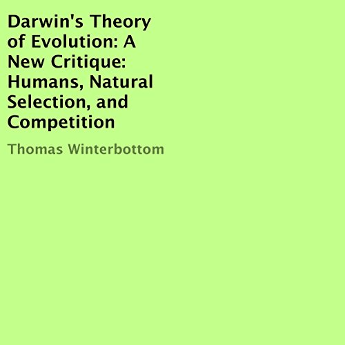 Darwin's Theory of Evolution: A New Critique cover art