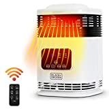 BLACK+DECKER 360° Surround Electronic Indoor Space Heater With Digital Display and Remote Control