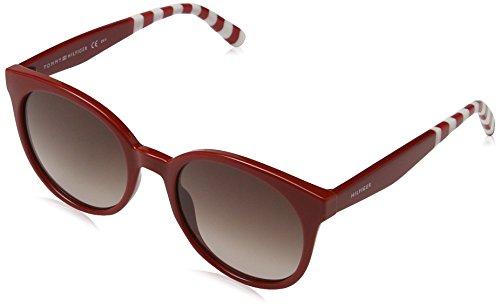 Tommy Hilfiger TH 1482/S 70 Gafas de sol, Red, 52 Unisex