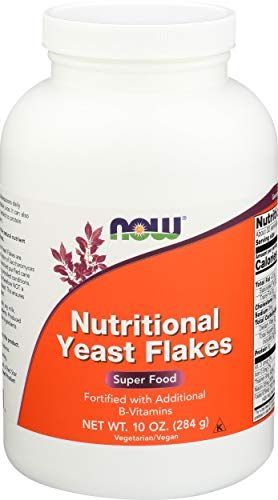 NOW Foods Nutritional Yeast Flakes -- 10 oz by Now Foods