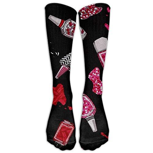 Dutars Kompressionssocken für Nagellack, hohe Socken, für Laufen, Medizin, Athletik, Ödeme, Diabetiker, Krampfadern, Reisen, Schwangerschaft, Schienbeinschienen
