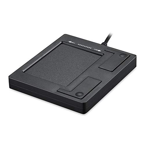 Perixx PERIPAD-501, USB Touchpad - Función Multitouch - Scroll, Drag & Drop etc.- 86x75x11mm - Negro - Uso Industrial y Profesional
