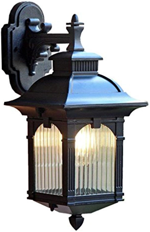 CN Im Freienwand-Lampen-Wasserdichte europische Art-Landhaus-Retro- Garten-Gang-Hof-Lichter im Freien führte Korridor-Lichter-Balkon-Lampen
