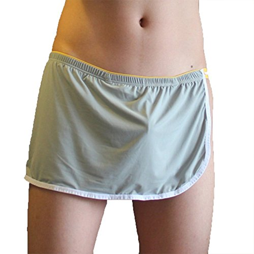 Mannen Ondergoed Pouch Boxer Briefs Side Opening Shorts