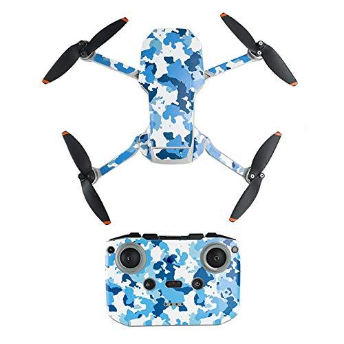 Mavic Mini 2 Aufkleber, PVC Decals für DJI Mavic Mini 2, Schutzfolie Sticker Kontakt Wasserdichter Drone Skin, Präzise Handwerkskunst, Verschleißfeste Materialien, minimalistisches Design