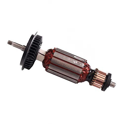 220V / 240V Cepillo de Carbono del cojinete del Eje del Rotor de la Armadura for Bosch GWS8 GWS 8-100 GWS 8-125 GWS8-125C GWS 850 Amoladora de ángulo (Color : Rotor)
