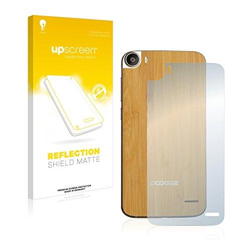 upscreen Entspiegelungs-Schutzfolie kompatibel mit Doogee F3 Pro (Rückseite) – Anti-Reflex Bildschirmschutz-Folie Matt