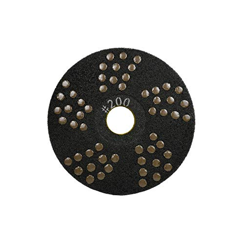 Concrete DNA Resin Satellite Pads | Double Sided Diamond Floor Polishing Pads | 17', 200 Grit