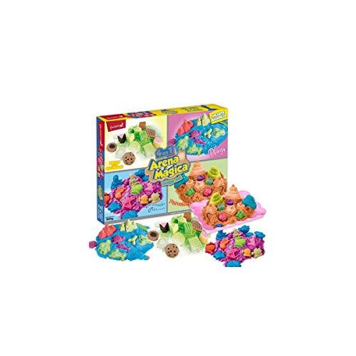 Juinsa Caja arena mágica con bandeja 800gr 65x51cm Multicolor (96874 , color/modelo surtido
