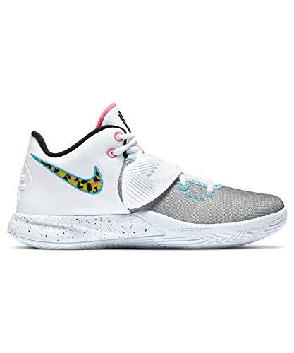 Nike Kyrie Flytrap III, Zapatillas de Baloncesto. para Hombre, Blanco, Negro y Azul, 40.5 EU
