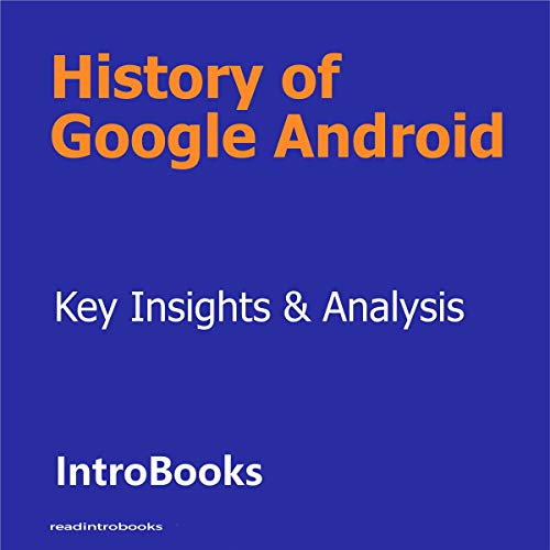 History of Google Android cover art