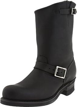 Frye Men s Engineer 12R Boot Black 13