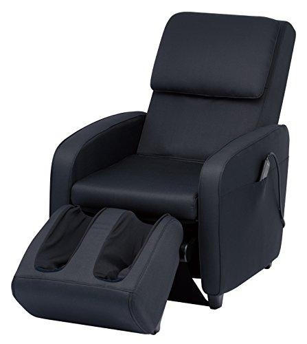 スライヴマッサージチェアくつろぎ指定席【SFITエスフィット】「つかみもみ機能搭載」ファブリックブラックCHD-7401(FK)
