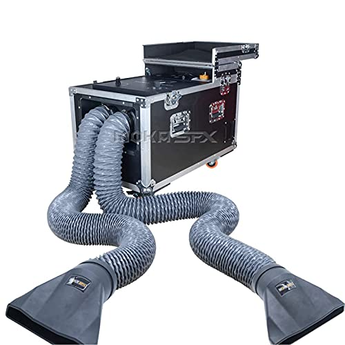 Fog Machine 3000w WaterBase Smoke Machine Dry Ice Effect Haze Machine DJ Water Fog Haze 2 Big Water Tanks with Outlet