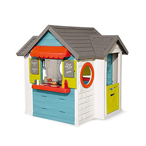 Smoby - Casa dello chef, casetta multifunzione per...