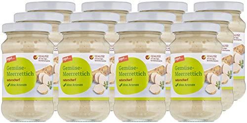 tegut... Gemüse-Meerrettich, 12er Pack (12 x 200 g)