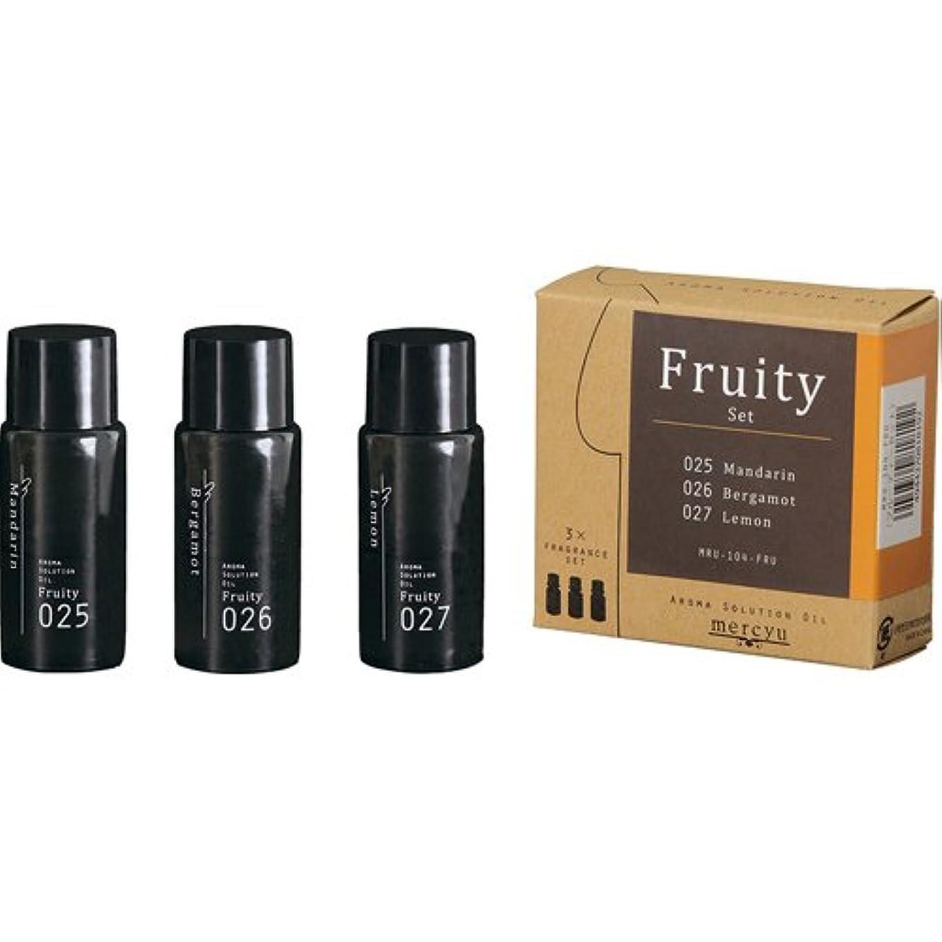 重要なイタリアの測定アロマ ソリューション オイル Fruity (025ベルガモット/026レモン/027マンダリン) MRU-104-FRU