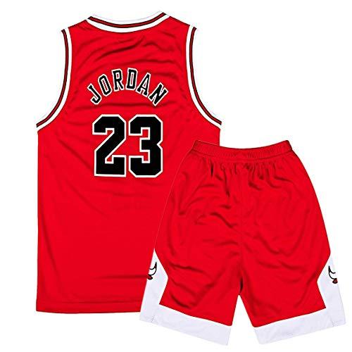 Niño Michael Jordan#23 Retro Pantalones Cortos Baloncesto