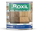 Roxil Wood Protection Cream Instant Waterproofing Clear Treatment, Weatherproofs: Fences, Decking,...