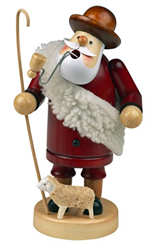 """Räuchermännchen Räuchermann Räucherfigur Rauchfigur """"Schäfer"""" ca. 14 cm hoch, aus Holz, Weihnachten Advent Geschenk (30104-14)"""