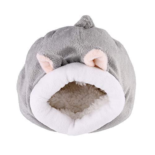 Balacoo Igel Kuscheln Sack - Ratte Hamster Haus Bett Winter Warm Fleece Kleines Haustier Chinchilla Bett Haus Käfig Nest Hamster Zubehör