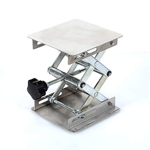 Lab-Lift Lifting Platforms Stand Rack Schaar Roestvrijstaal 100X100mm